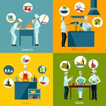 Set de cocina para personas