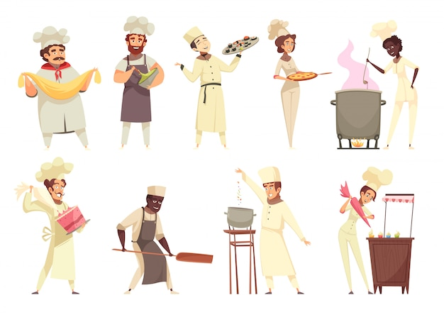 Set de cocina profesional