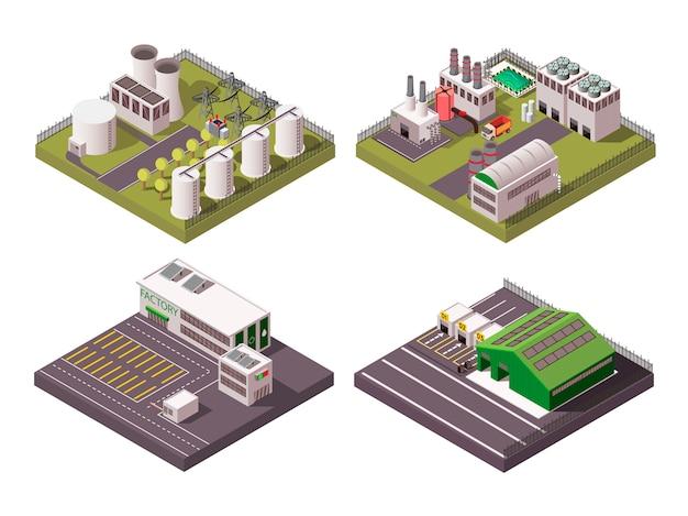 Set de composición de fábrica 2x2