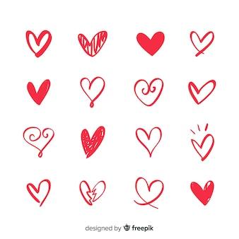 Set corazones pequeños