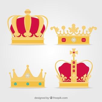 Set de coronas de lujo