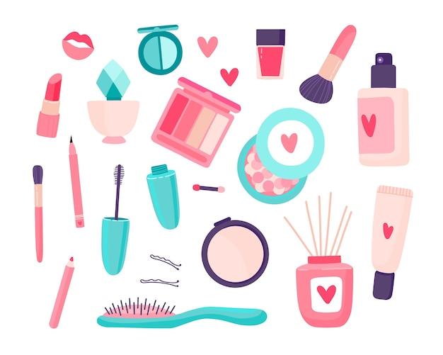 Set de cosméticos de maquillaje