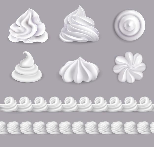 Set de crema batida