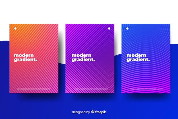 Set de cubiertas coloridas