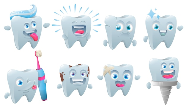 Set de cuidado de los dientes