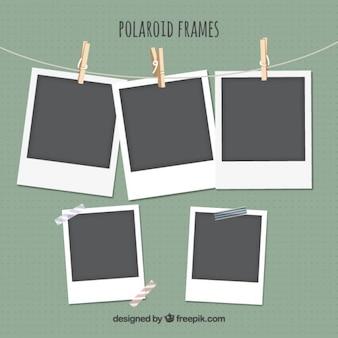 Set de marcos polaroid