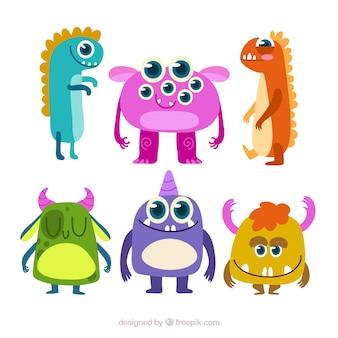 Monstruo personaje de dibujos animados fotos y vectores - Images de monstres rigolos ...