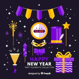 Set de decoración de año nuevo 2019