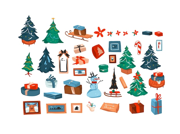 Set de decoración navideña