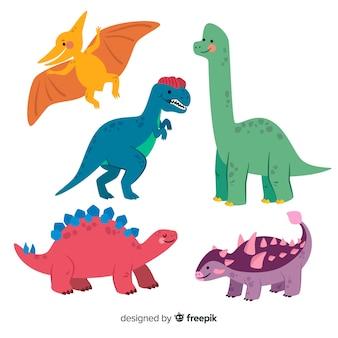 Set de dinosaurios