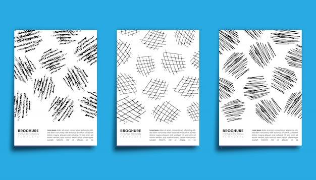 Set de diseño de lápiz carboncillo.