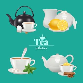 Set de diseño de té