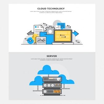 Set de diseños de almacenamiento