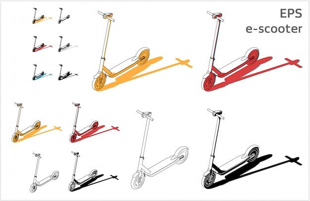 Set de e-scooter