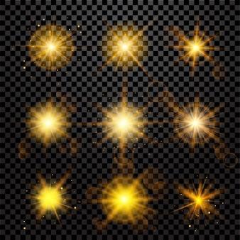 Set de efectos de luz
