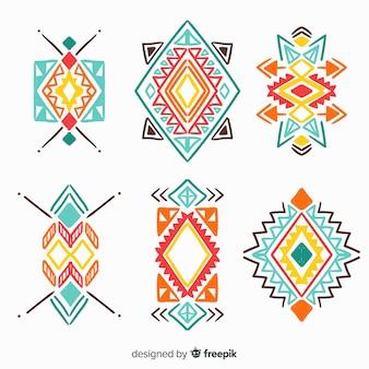 Set de elementos étnicos