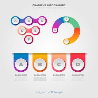 Set de elementos infográficos