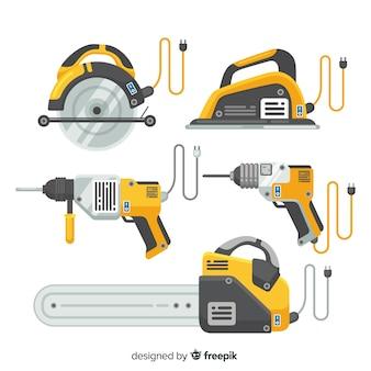 Set de equipamiento para la construcción