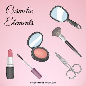 Set de equipamiento de cosméticos