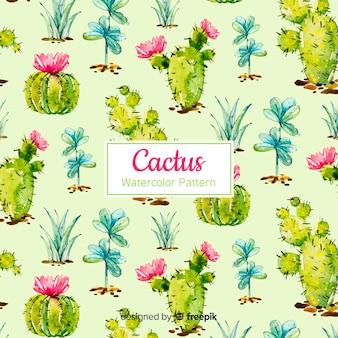 Set de estampados de cactus