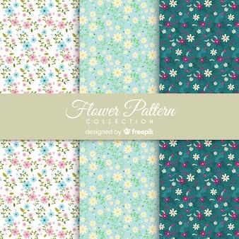 Set de estampados florales