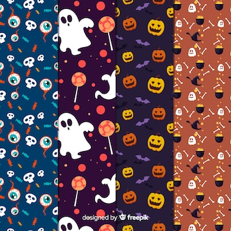 Set de estampados de halloween