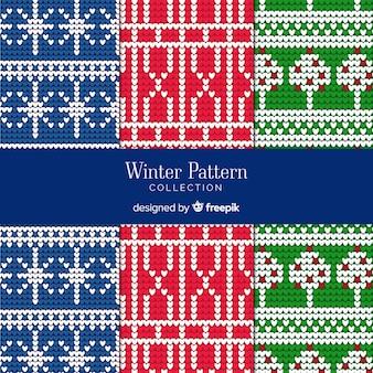 Set de estampados de invierno