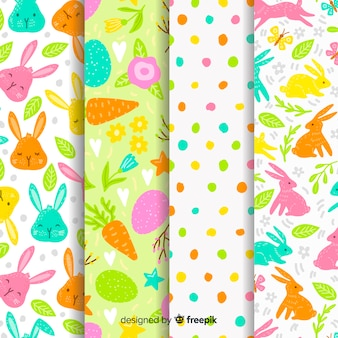 Set de estampados de pascua