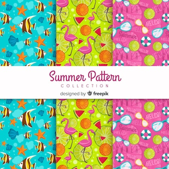Set de estampados de verano