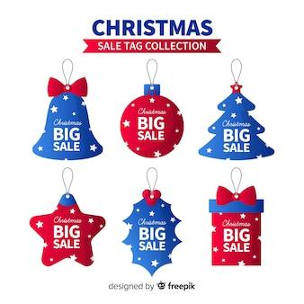 Set de etiquetas navideños