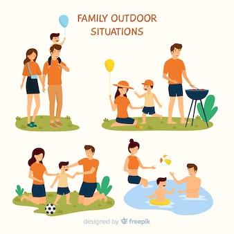Set de familias