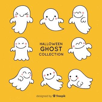 Set de fantasmas de halloween