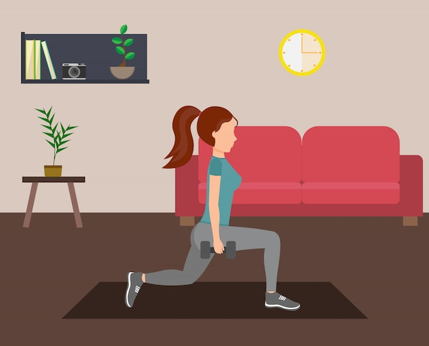 Set de fitness para mujer