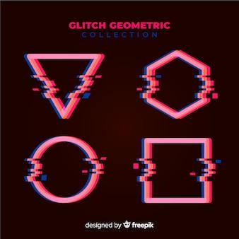 Set de formas geométricas con fallos