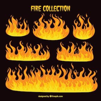 Set de fuego
