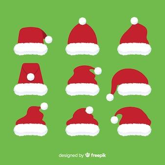 Set de gorros navideños