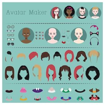 Set hacer un avatar