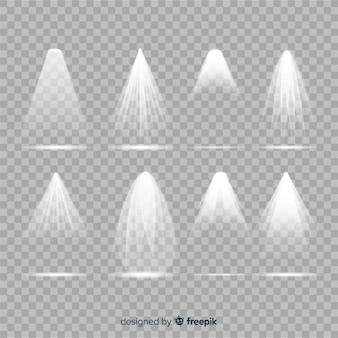 Set de iluminación de escena