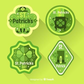 Set de insignias de san patricio