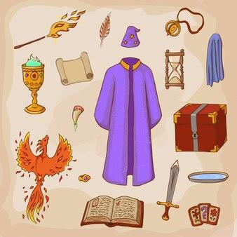 Set para jugar un mago