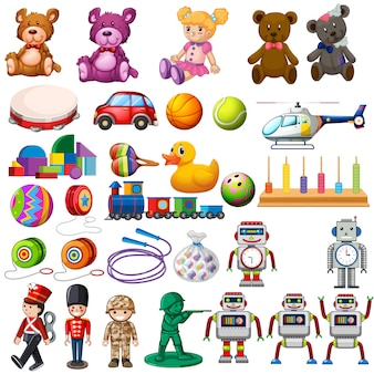 Set de juguetes infantiles