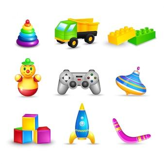 Set de juguetes para niños