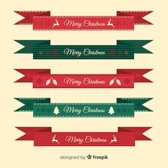 Set de lazos navideños
