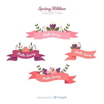 Set de lazos primaverales
