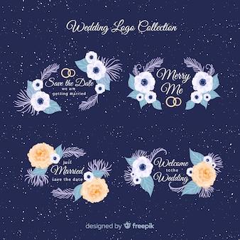 Set de logotipos de boda