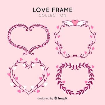 Set de marcos de amor