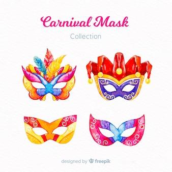 Set de máscaras de carnaval