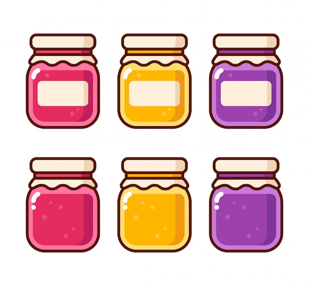 Set de mermelada