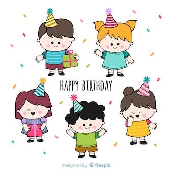 Set niños cumpleaños