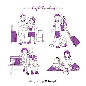 Set de parejas de viaje
